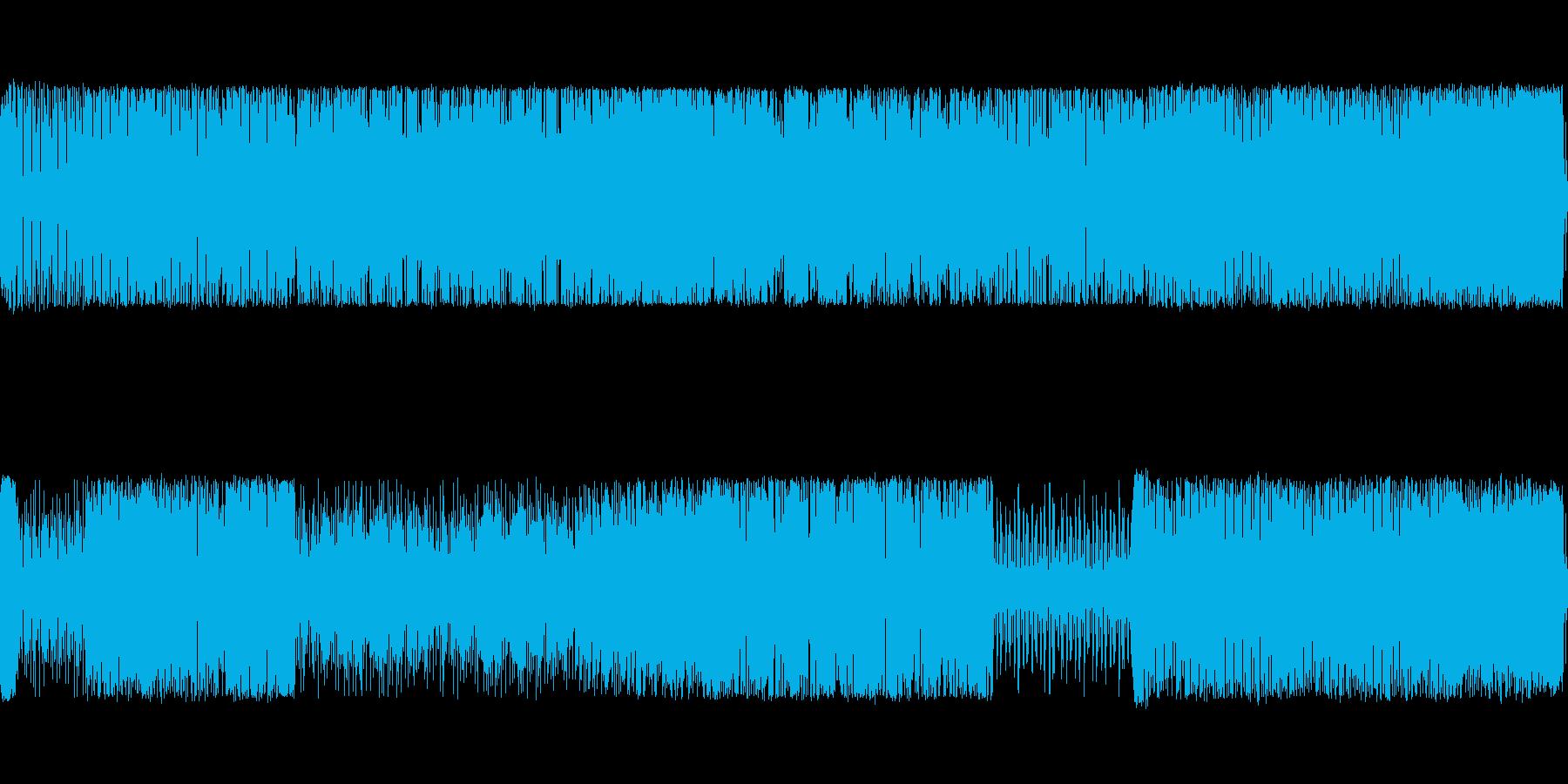8bitピコピコ(エンディング付き)の再生済みの波形