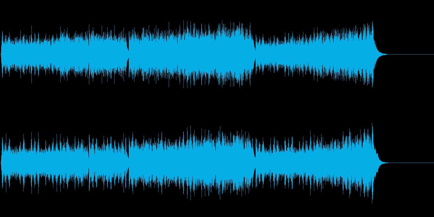 エスニックをブレンドしたサウンドの再生済みの波形