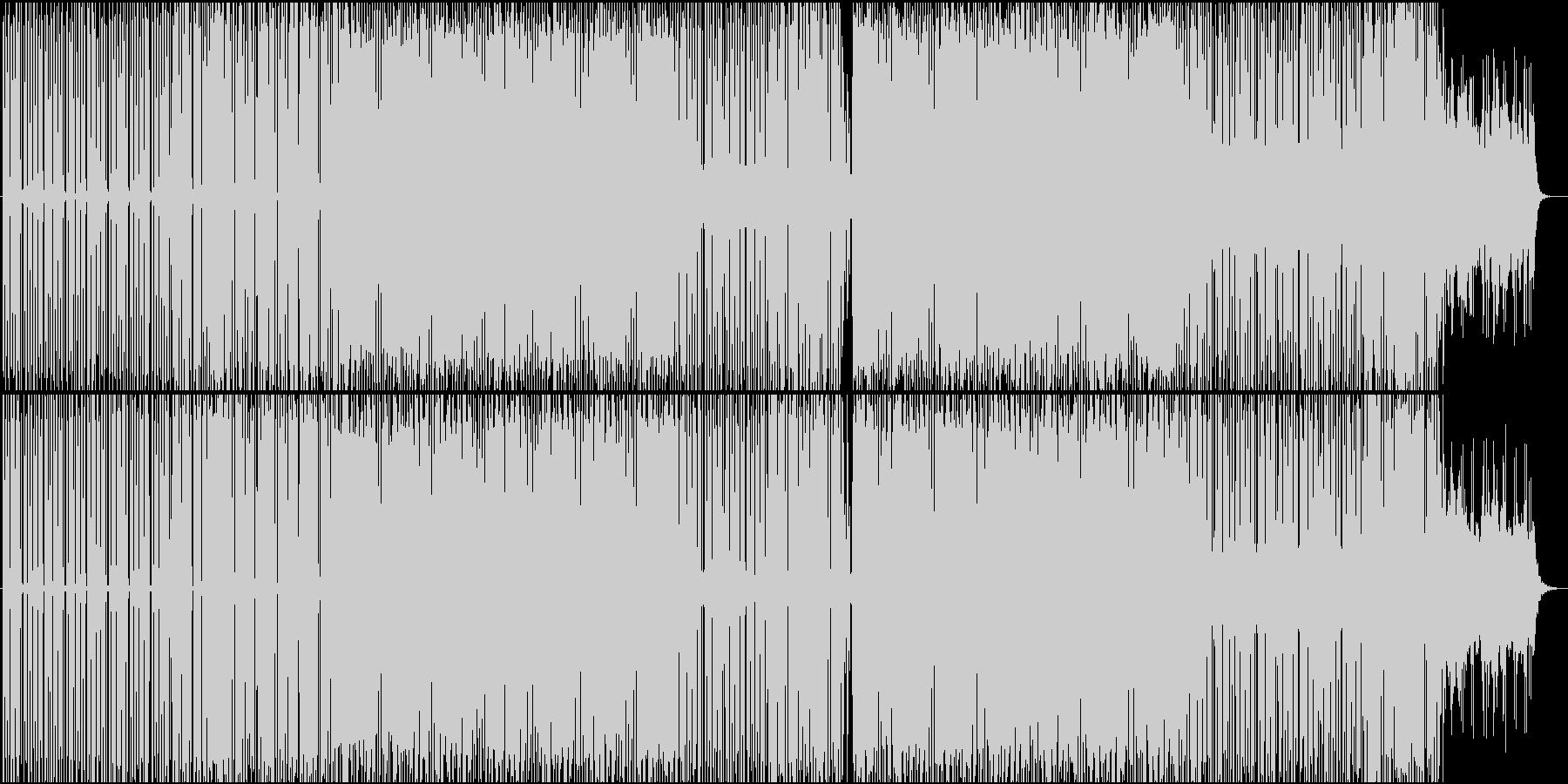 朝をイメージしたミニマルテクノ♬の未再生の波形