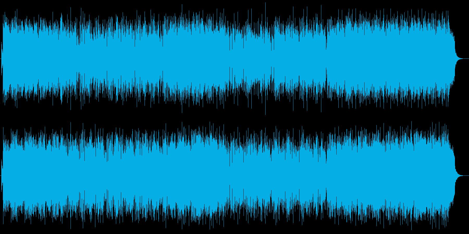 穏やかで優しいジャズサウンドの再生済みの波形
