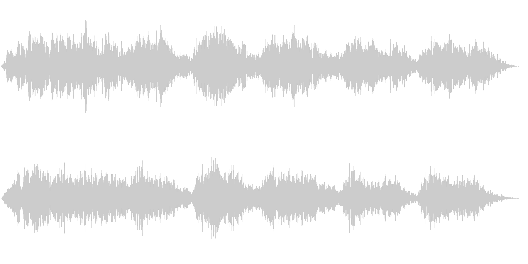 エスノムード満載アンビエントな笛の音楽の未再生の波形
