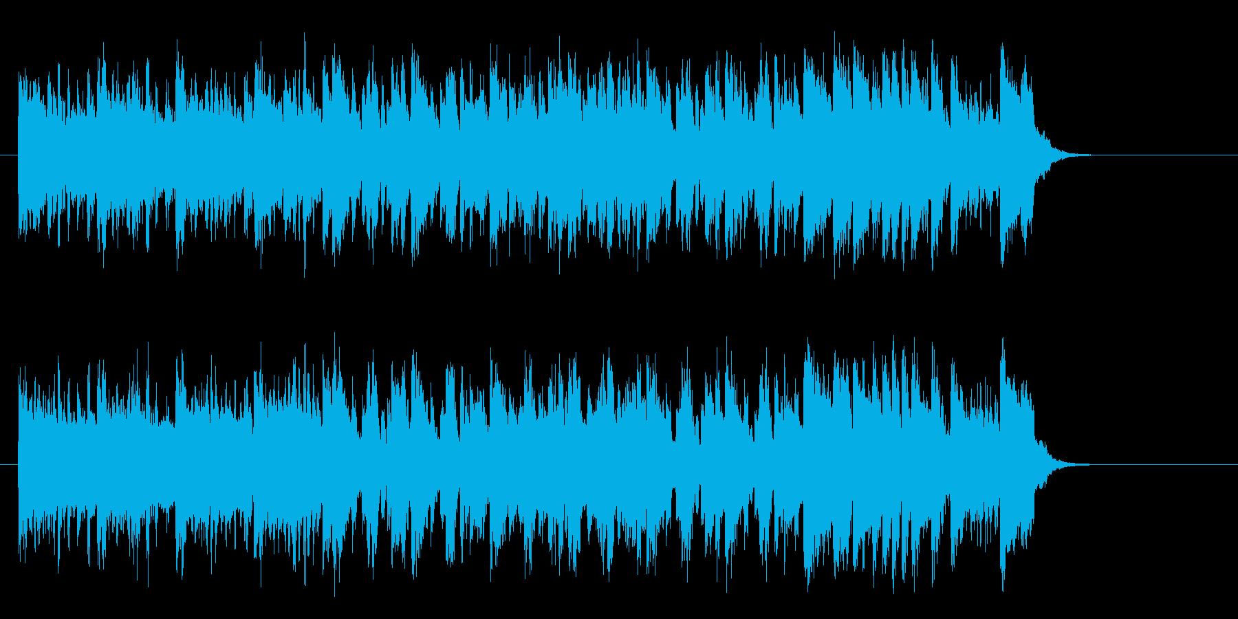 リゾート風ラテンポップス(イントロ~…)の再生済みの波形