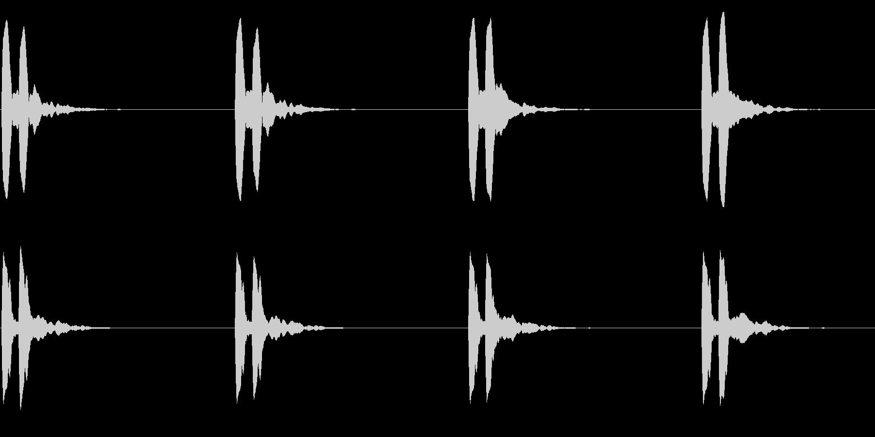 横断歩道 誘導音03-4(ループ) の未再生の波形