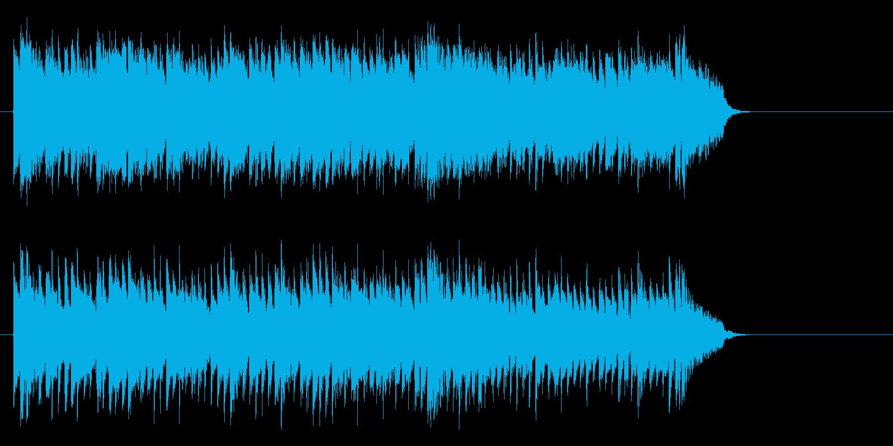 活力を与える暖かなポップ(サビ~エンド)の再生済みの波形