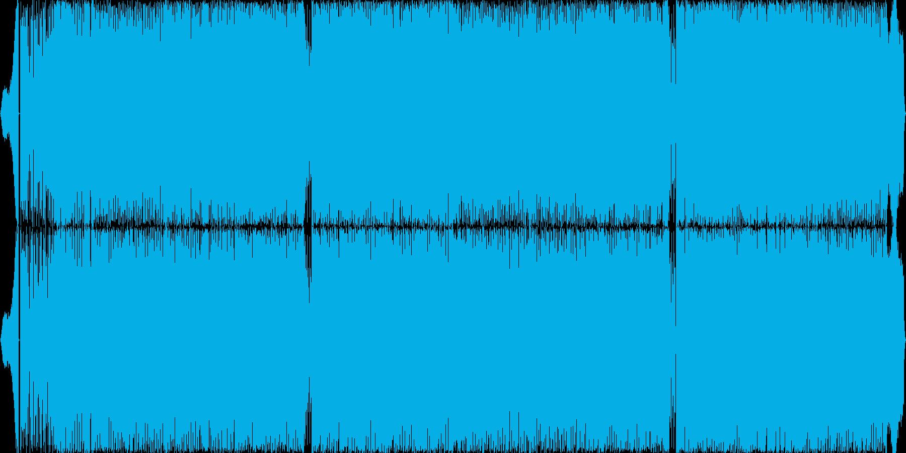 超楽しく盛り上がるテクノポップの再生済みの波形