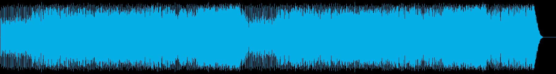 充実感を感じる清涼ポップ(フルサイズ)の再生済みの波形