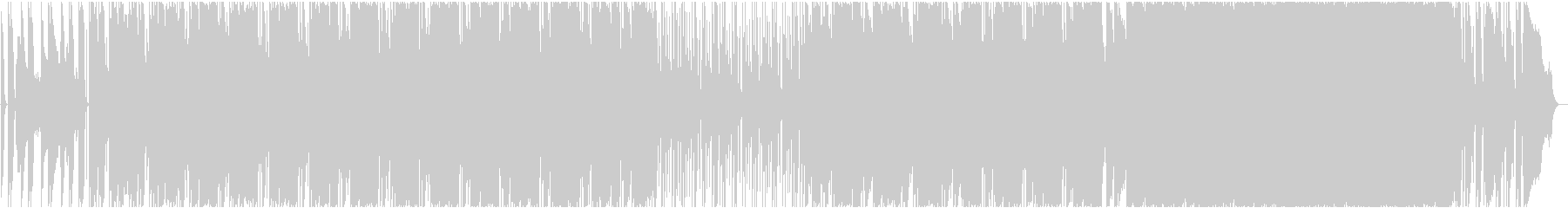 HIP HOP INST. 03の未再生の波形
