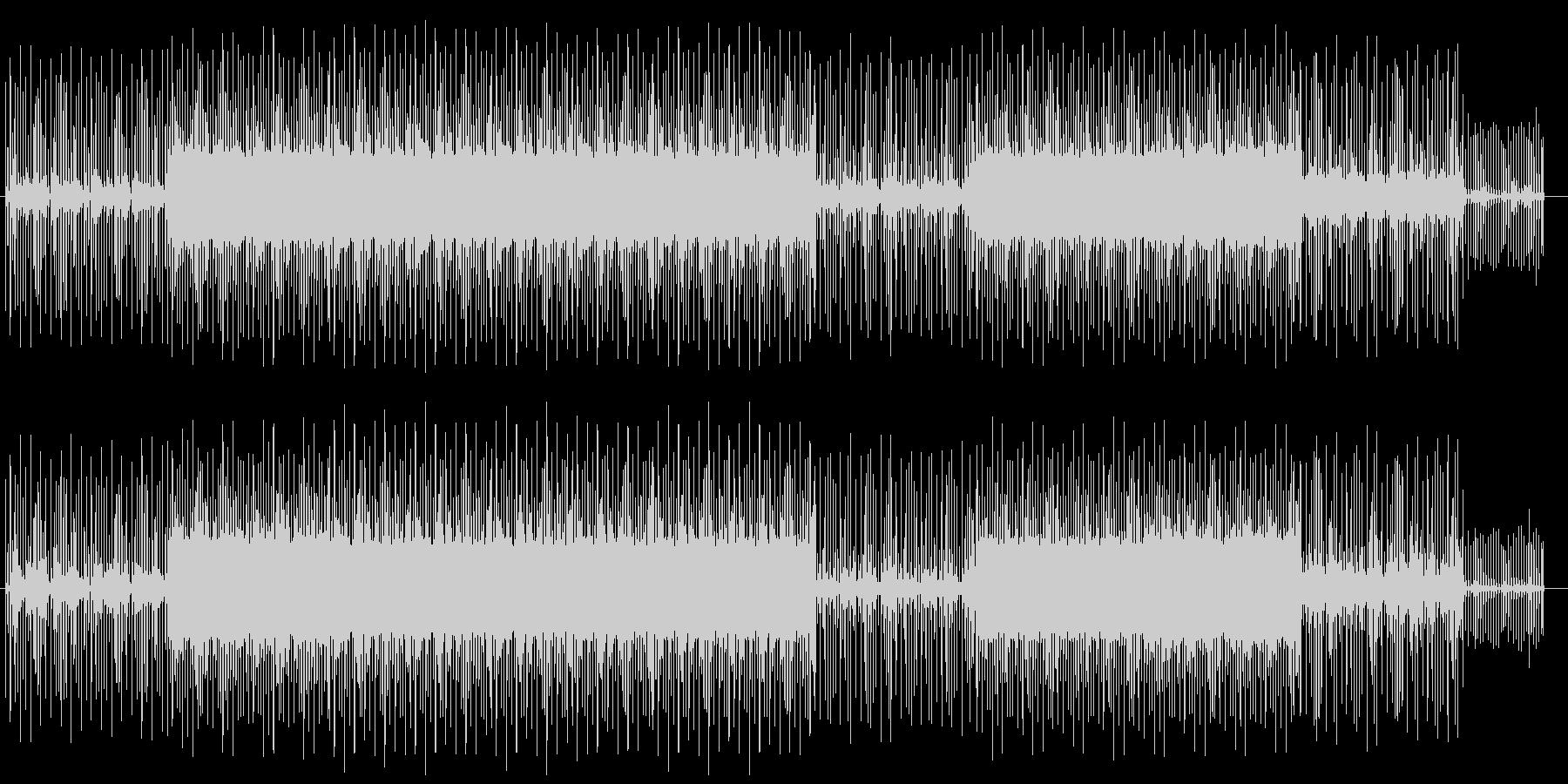 フワフワしたイメージの魅惑的な曲の未再生の波形