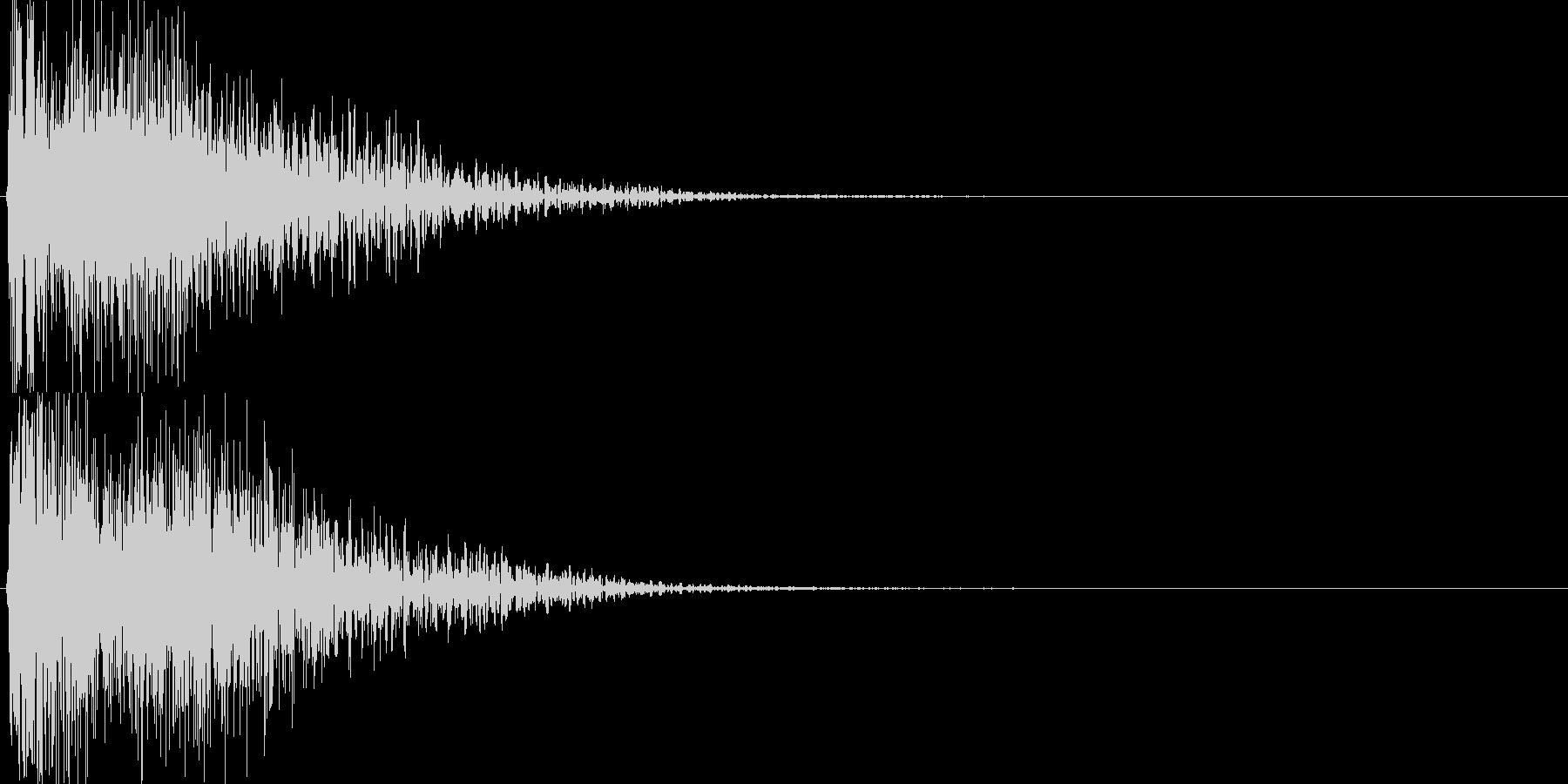 ピコ(ゲーム、アプリなどの操作音09)の未再生の波形