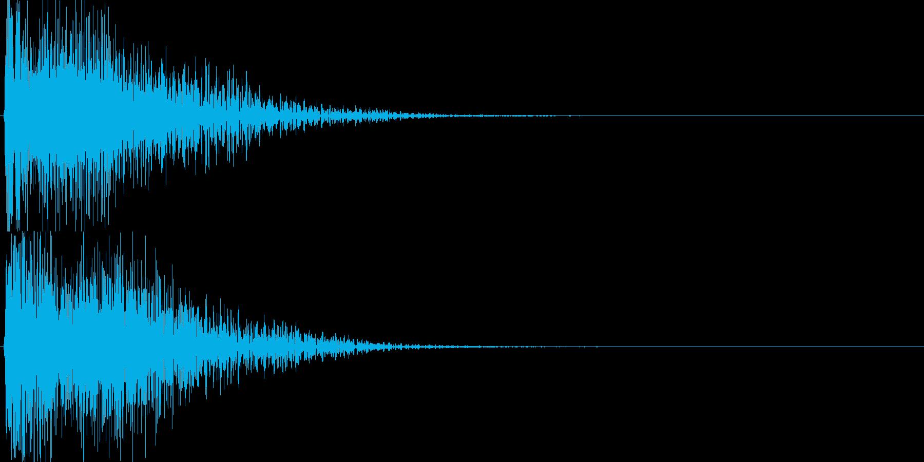 ピコ(ゲーム、アプリなどの操作音09)の再生済みの波形