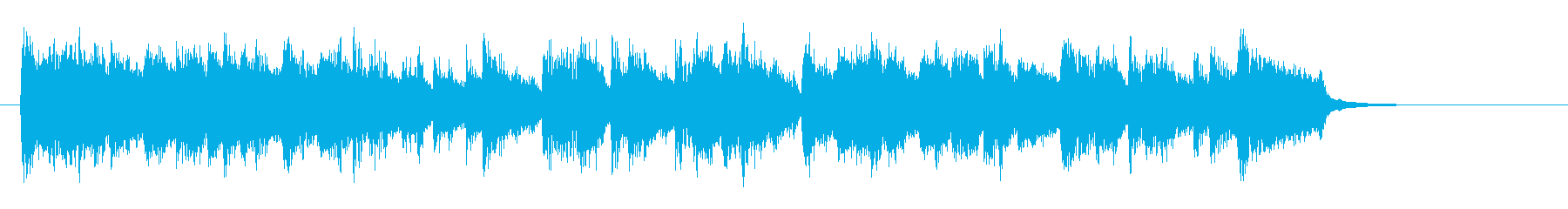ジャズのような、落ち着きあるバラードの再生済みの波形