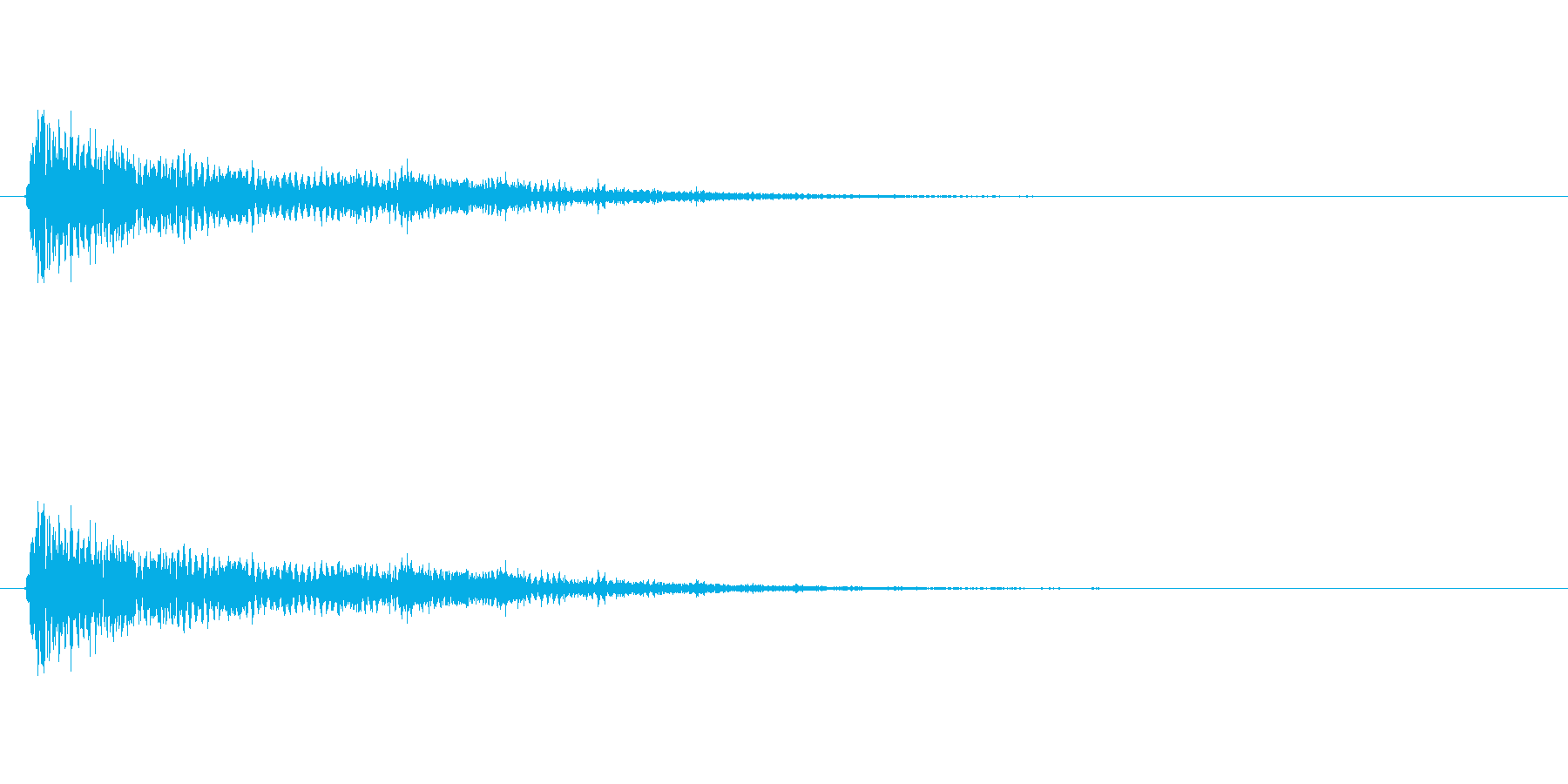 【ネガティブ05-3】の再生済みの波形