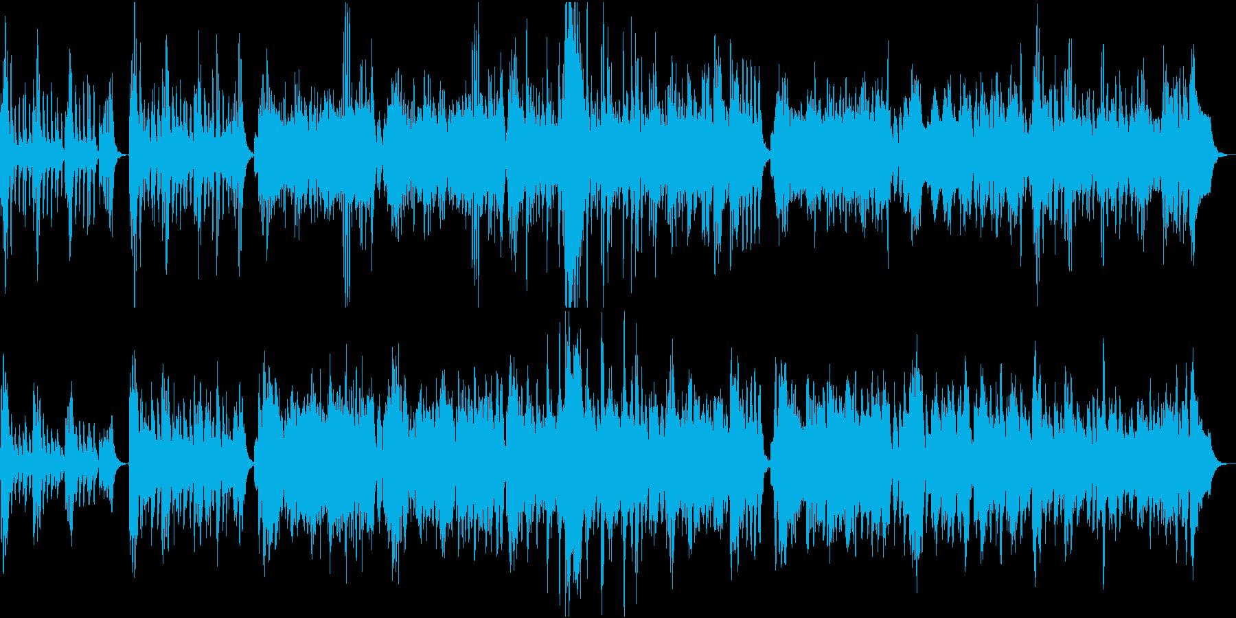 軽快で可愛らしい弦楽五重奏の再生済みの波形