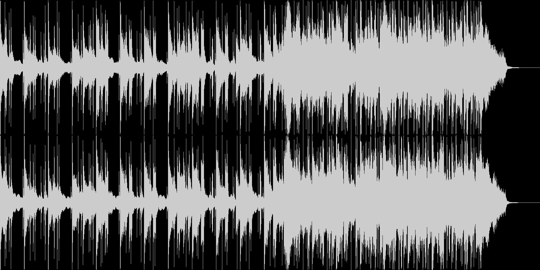 爽やかな余韻が残るCM向けバラードの未再生の波形