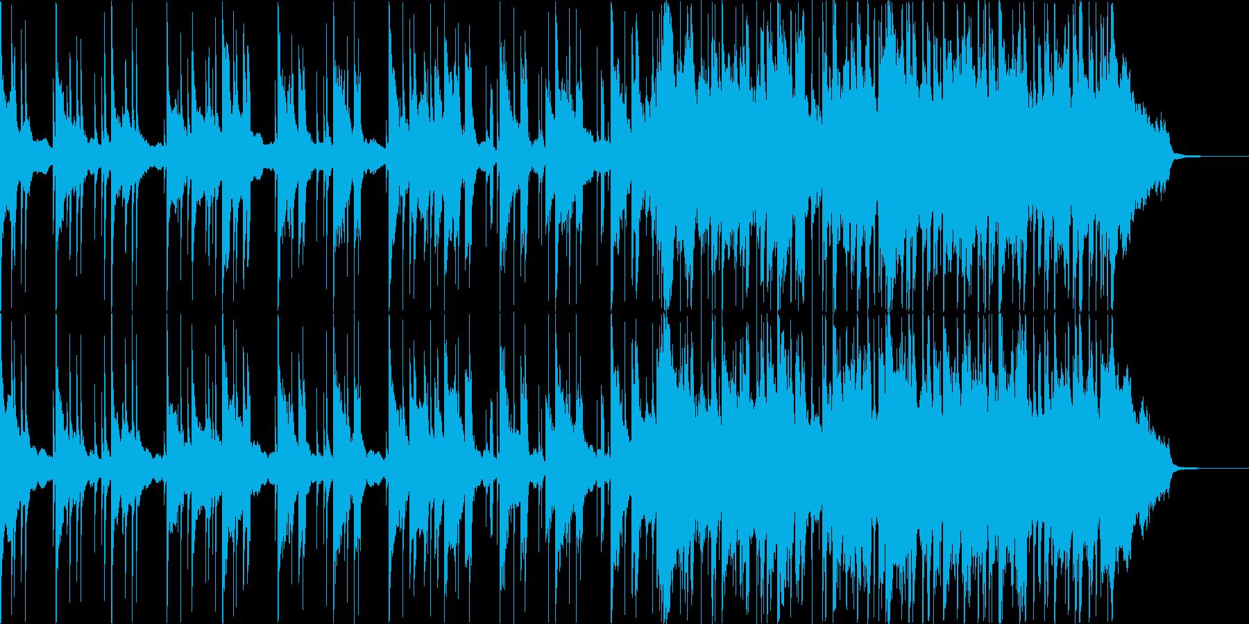 爽やかな余韻が残るCM向けバラードの再生済みの波形