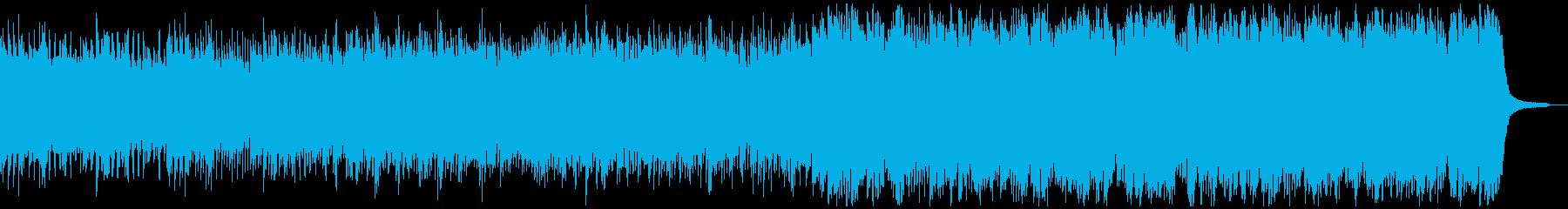 ピアノと民族コーラス 後半の弦がゆったりの再生済みの波形