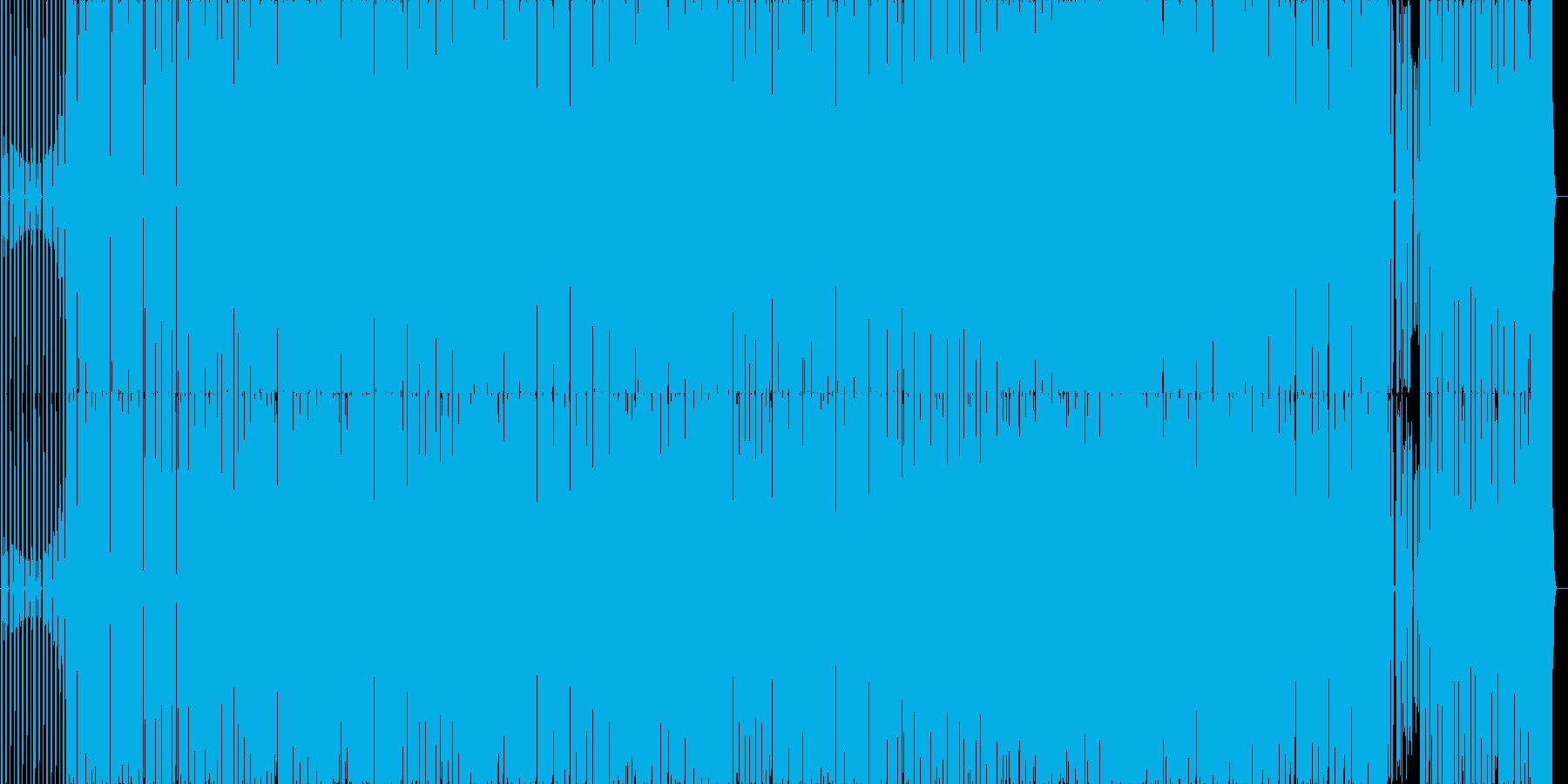 カチッとしたEDM系の曲です。の再生済みの波形