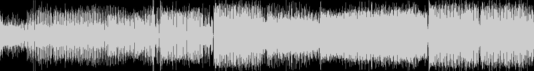 [テンポの良い硬質系クラブミュージック]の未再生の波形