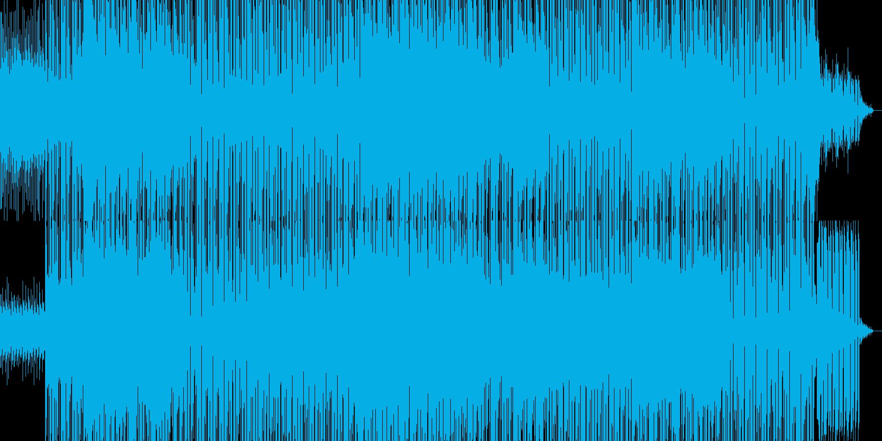 切ないリフが印象的なダンス曲の再生済みの波形
