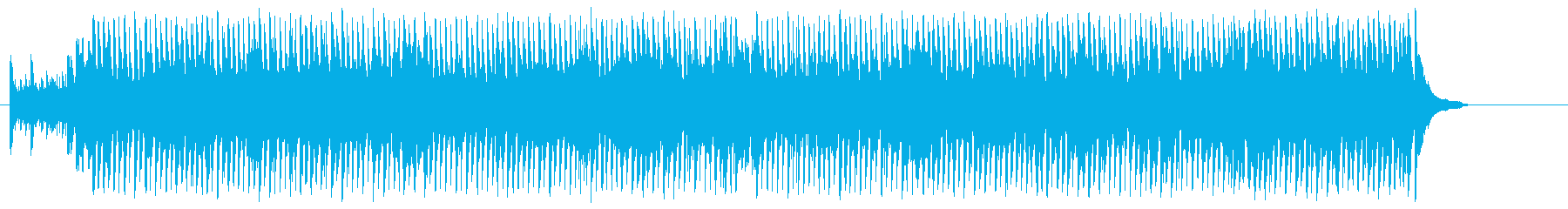 楽しい 軽快 にぎやか ショータイムの再生済みの波形