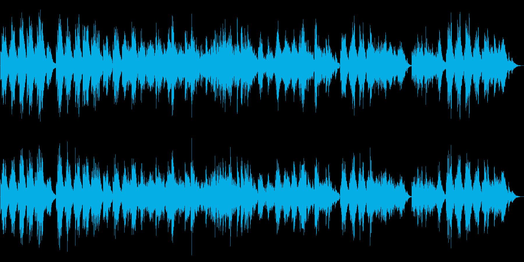 うつろうようなエレピソロ曲の再生済みの波形