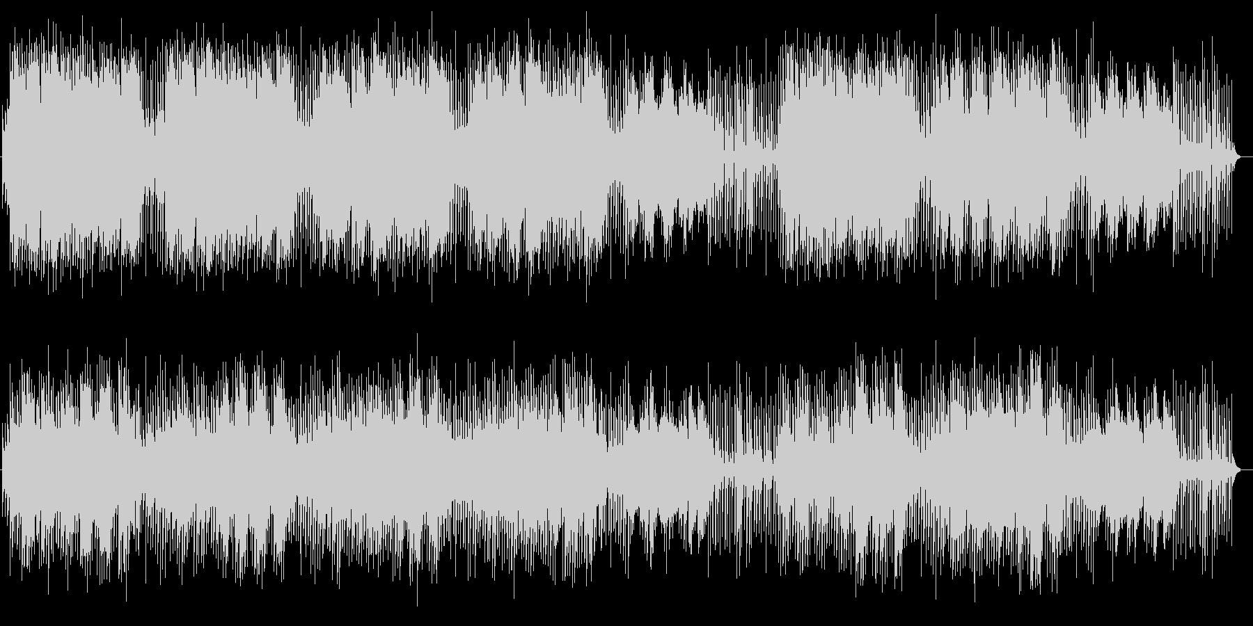 優しく切ないシンセサイザーサウンドの未再生の波形