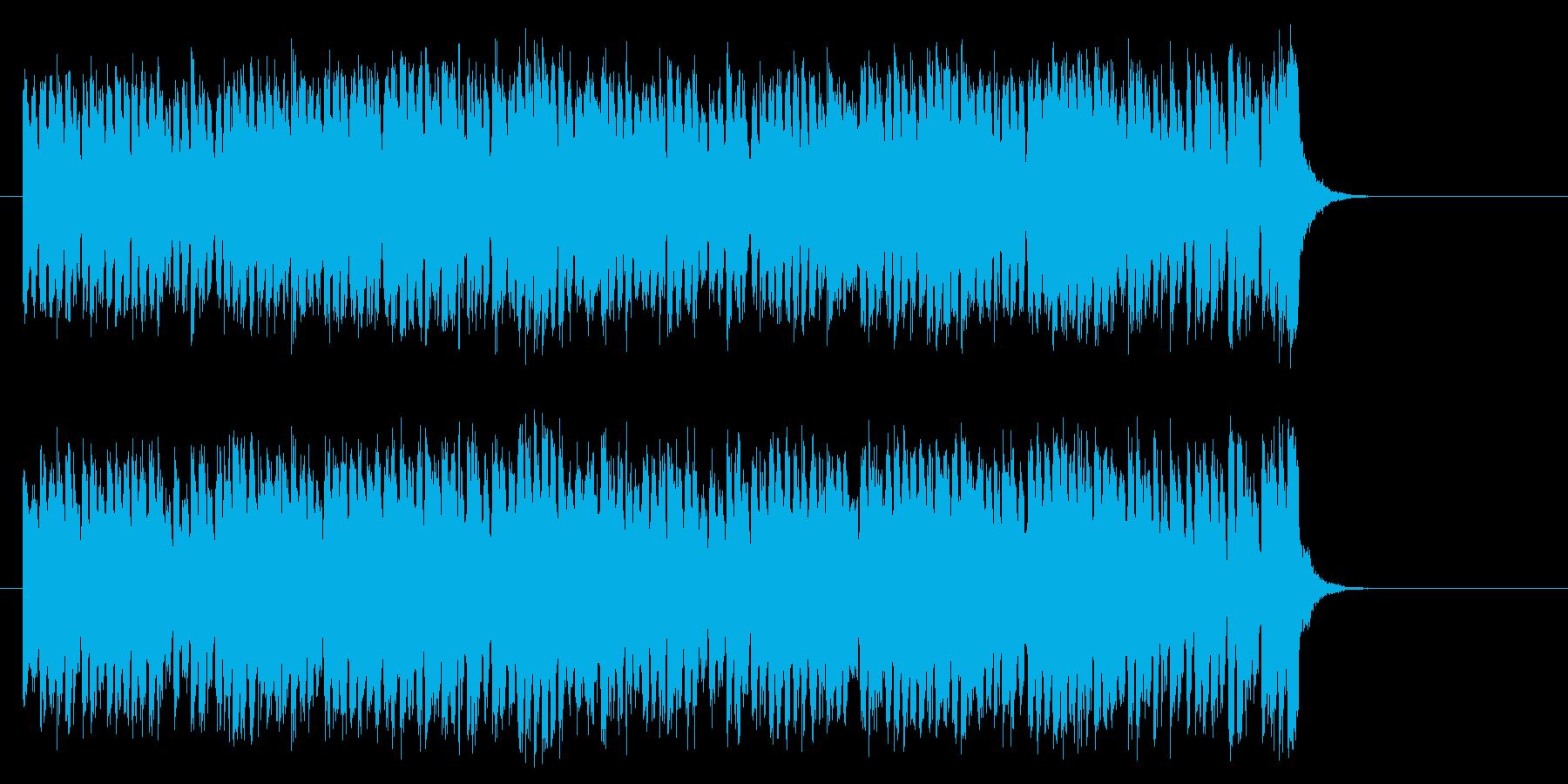 爽快な8ビート・ポップス(サビ~エンド)の再生済みの波形