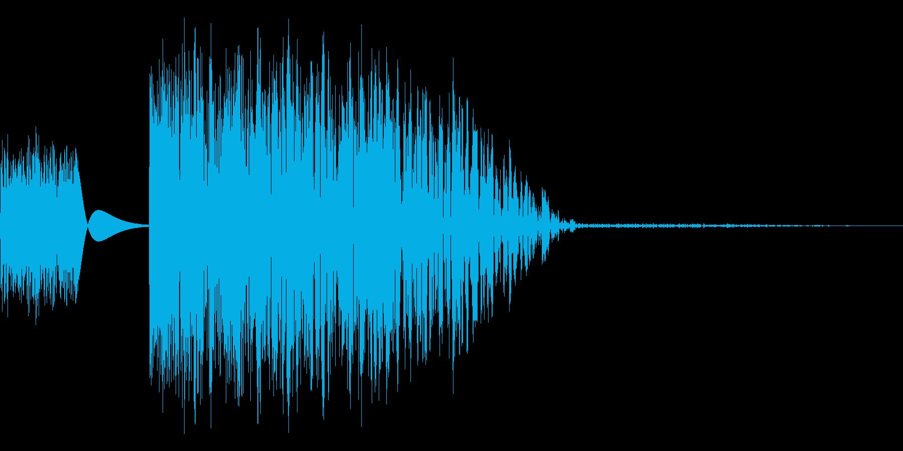 プシャー(感情:怒る)の再生済みの波形