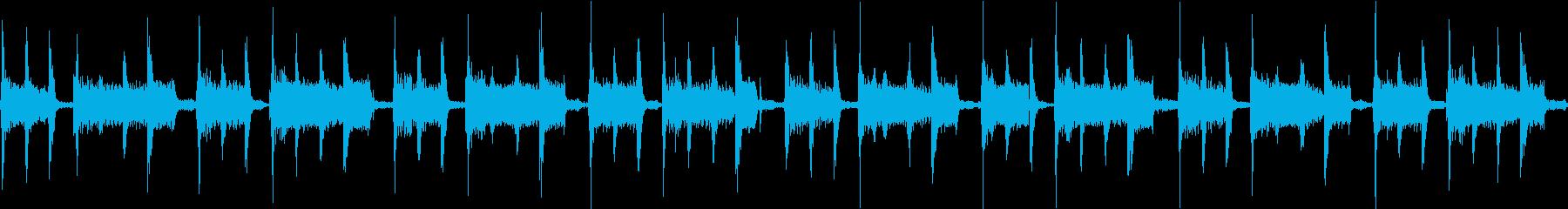 【ループA】やさしくて透明感ギターピアノの再生済みの波形