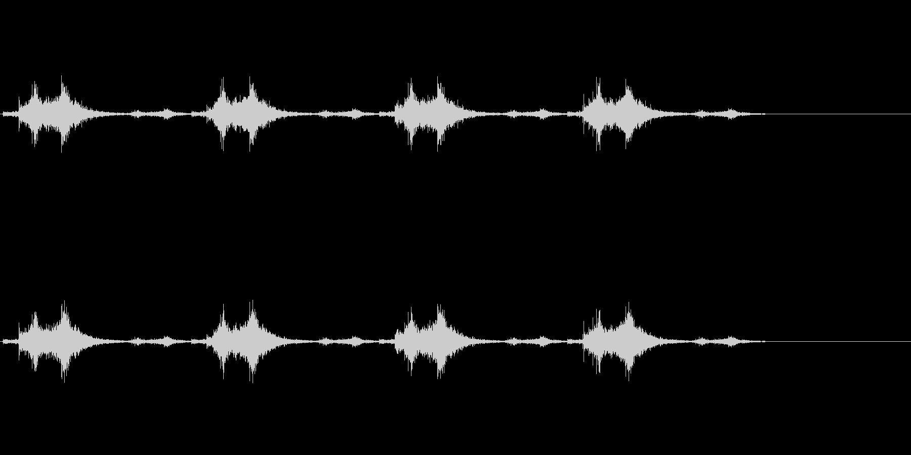 バサッ…バサッ…(羽ばたき音、飛行系)の未再生の波形