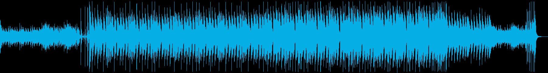 映像に合うかっこいい大人テクノの再生済みの波形