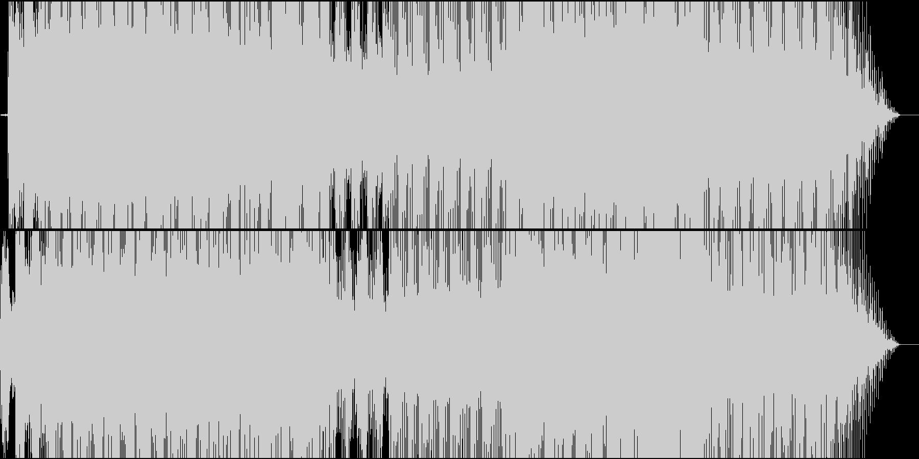 【高クオリティ】近未来感あるテクノポップの未再生の波形