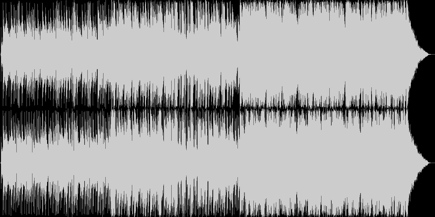 炭鉱の町 星空 廃屋 ピアノ ギターの未再生の波形