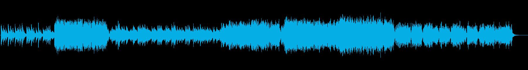 切なく壮大なインスト曲の再生済みの波形