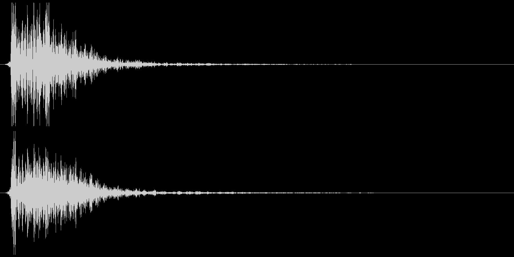 煙玉、爆発など (ドシュゥ)の未再生の波形