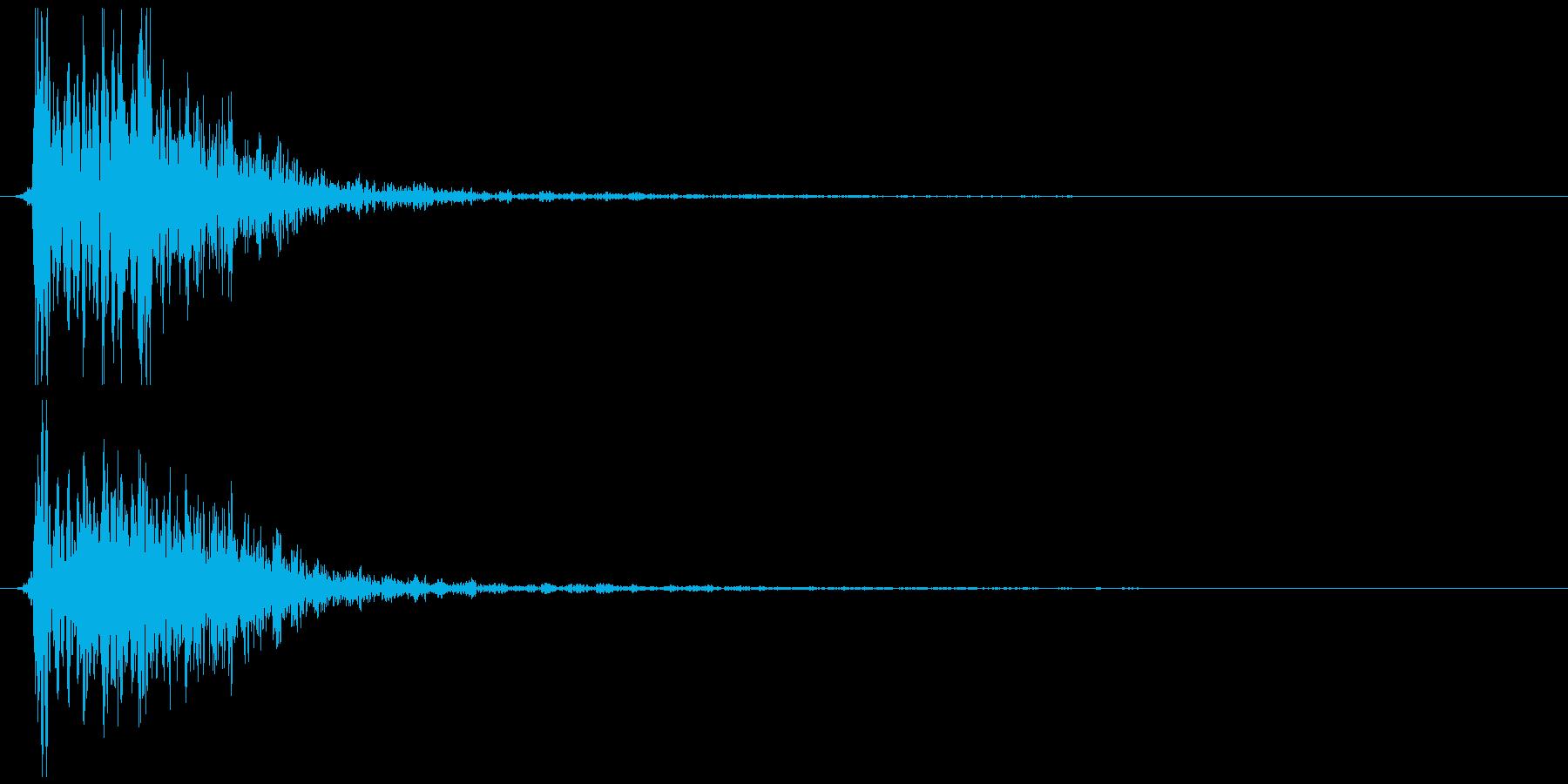 煙玉、爆発など (ドシュゥ)の再生済みの波形
