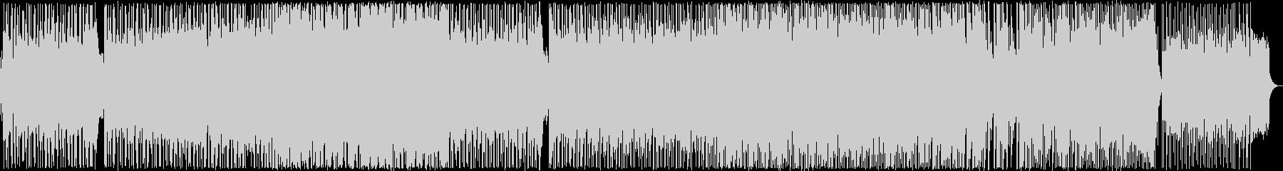 ゆったりとしたメロディのポップバラード2の未再生の波形
