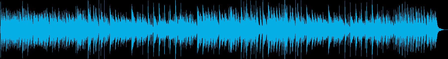 神秘的・幻想的なピアノ曲の再生済みの波形