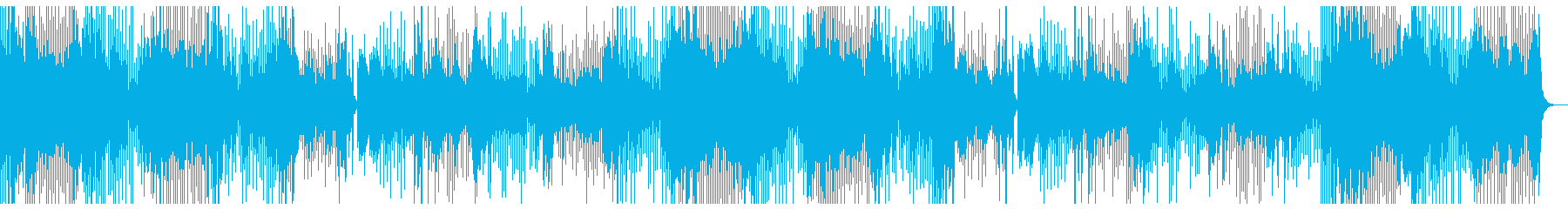 機械音楽ですの再生済みの波形