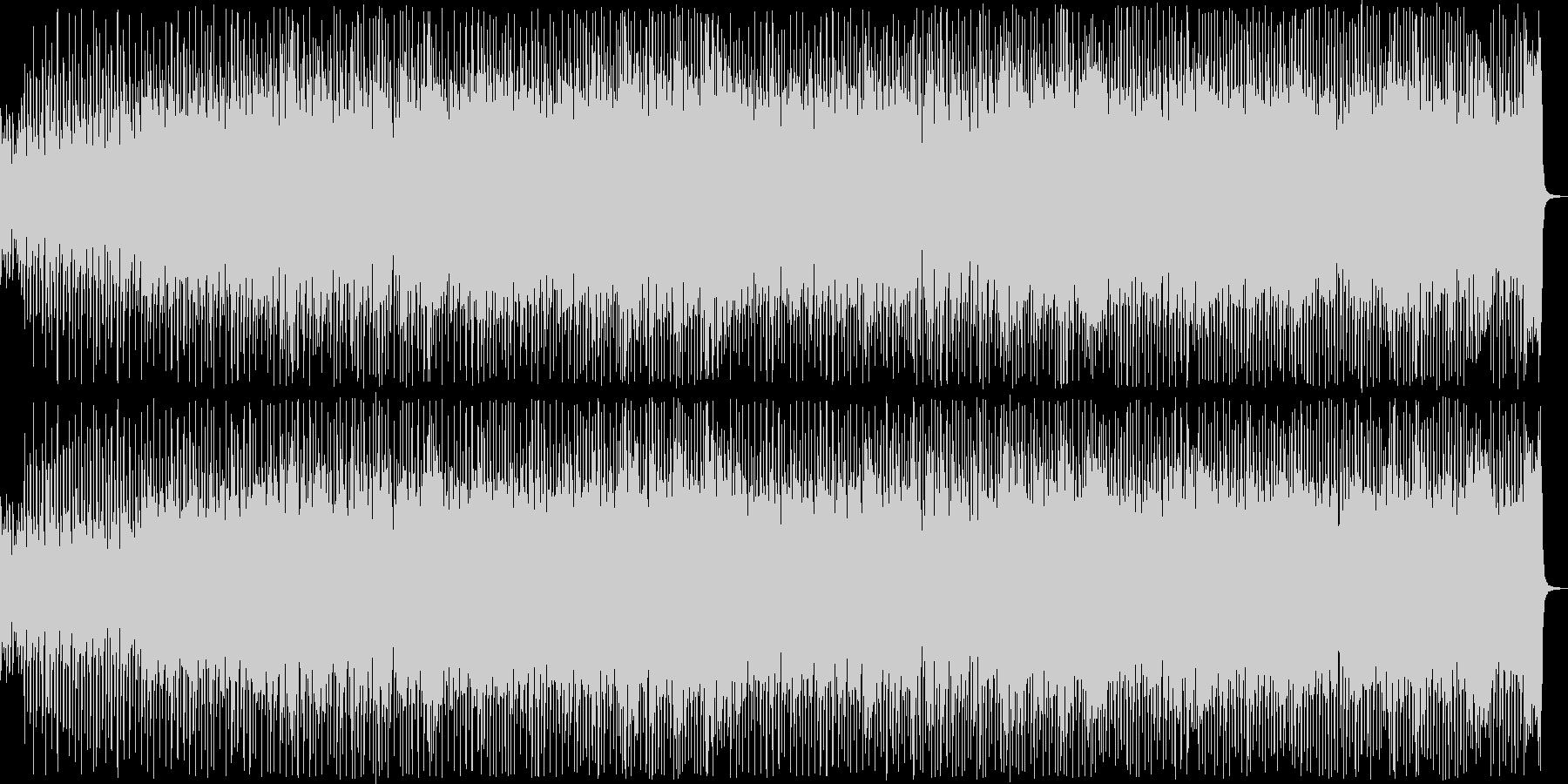 80年代風のエレクトロポップの未再生の波形