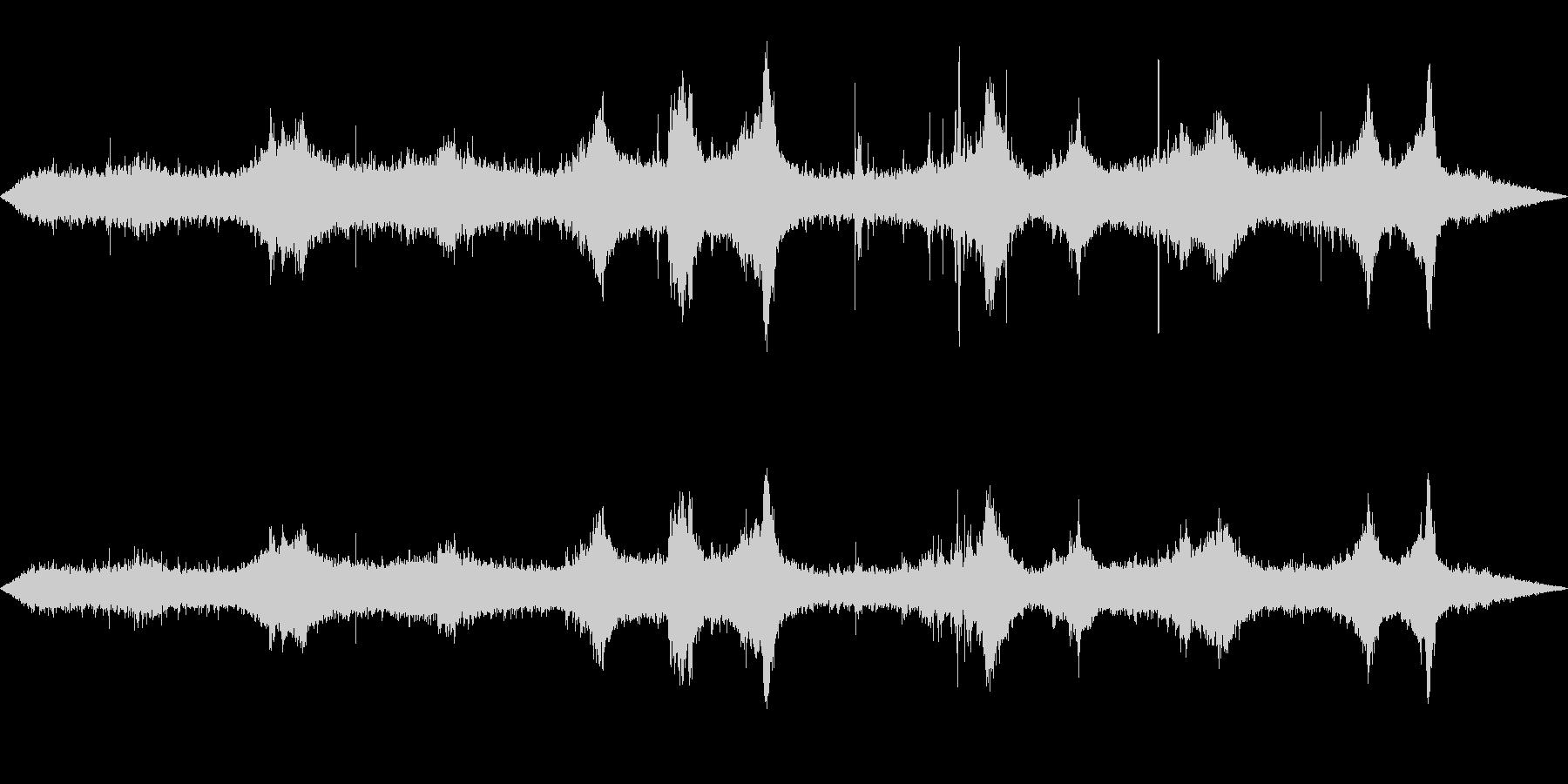 環境音-雨(窓から外を見るイメージ1)の未再生の波形