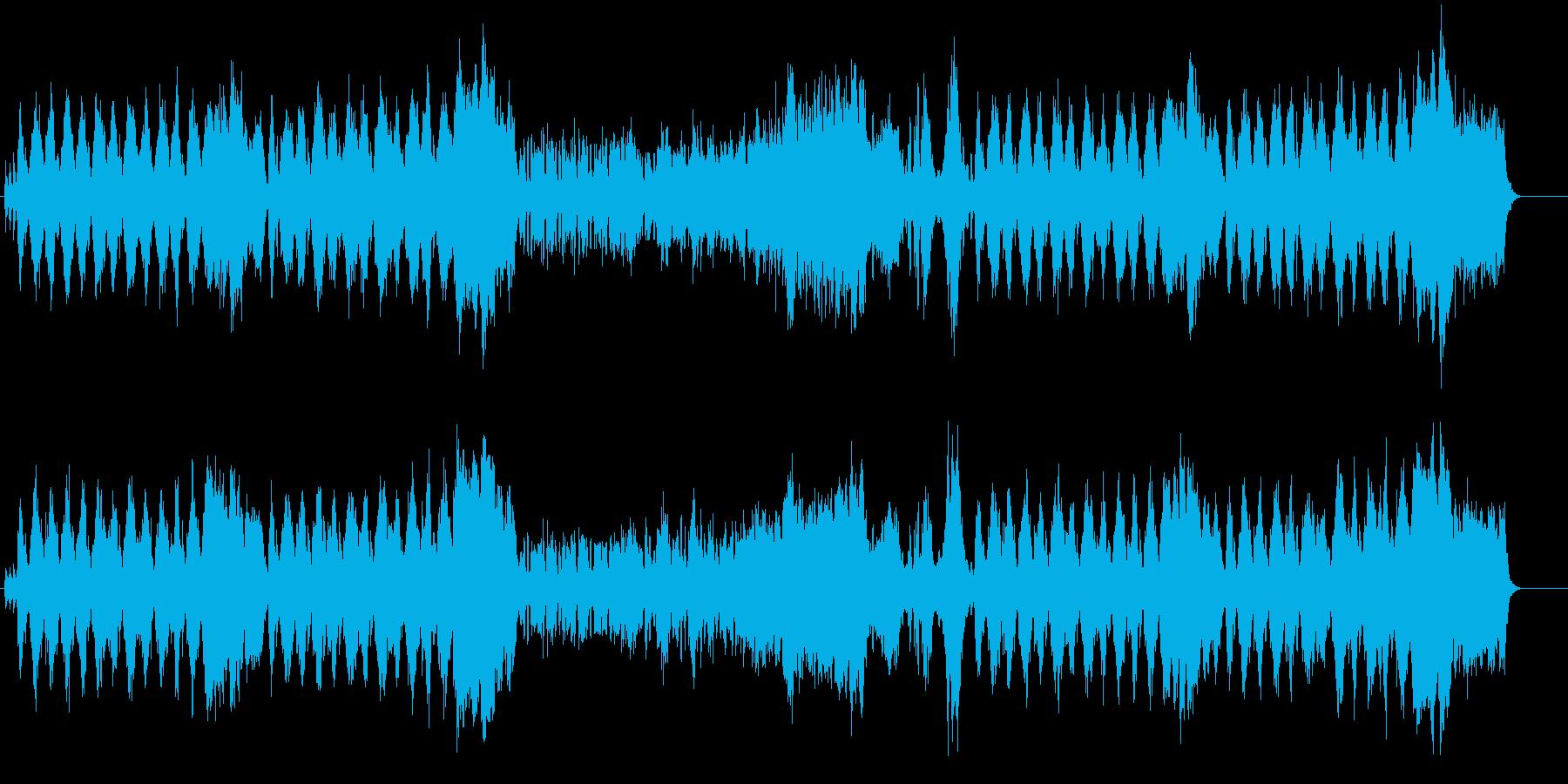 バロック調ウェディング・セレモニーの再生済みの波形