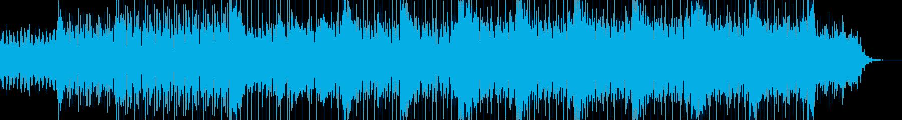 怪しげで疾走感のあるカッコイイ曲の再生済みの波形