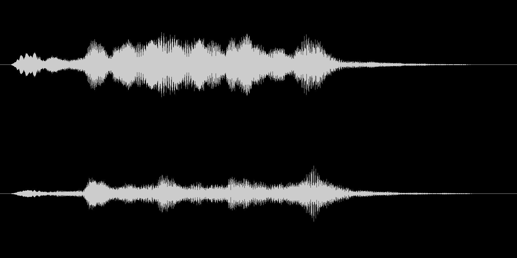 ストリングスアイキャッチ4秒の未再生の波形