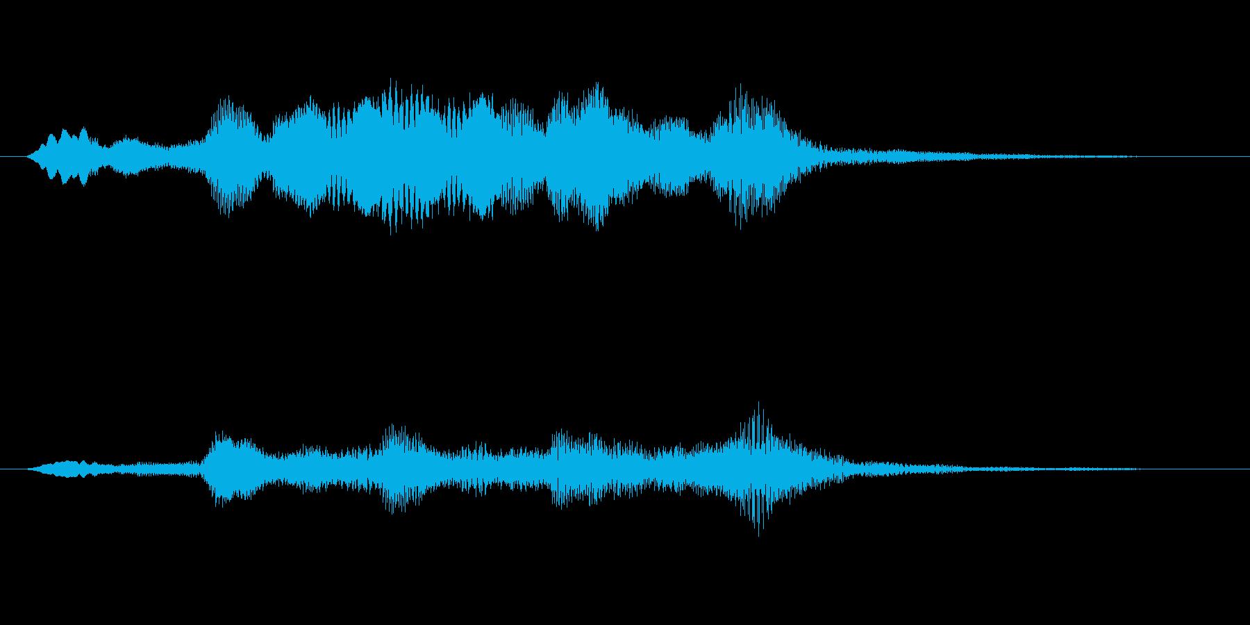ストリングスアイキャッチ4秒の再生済みの波形