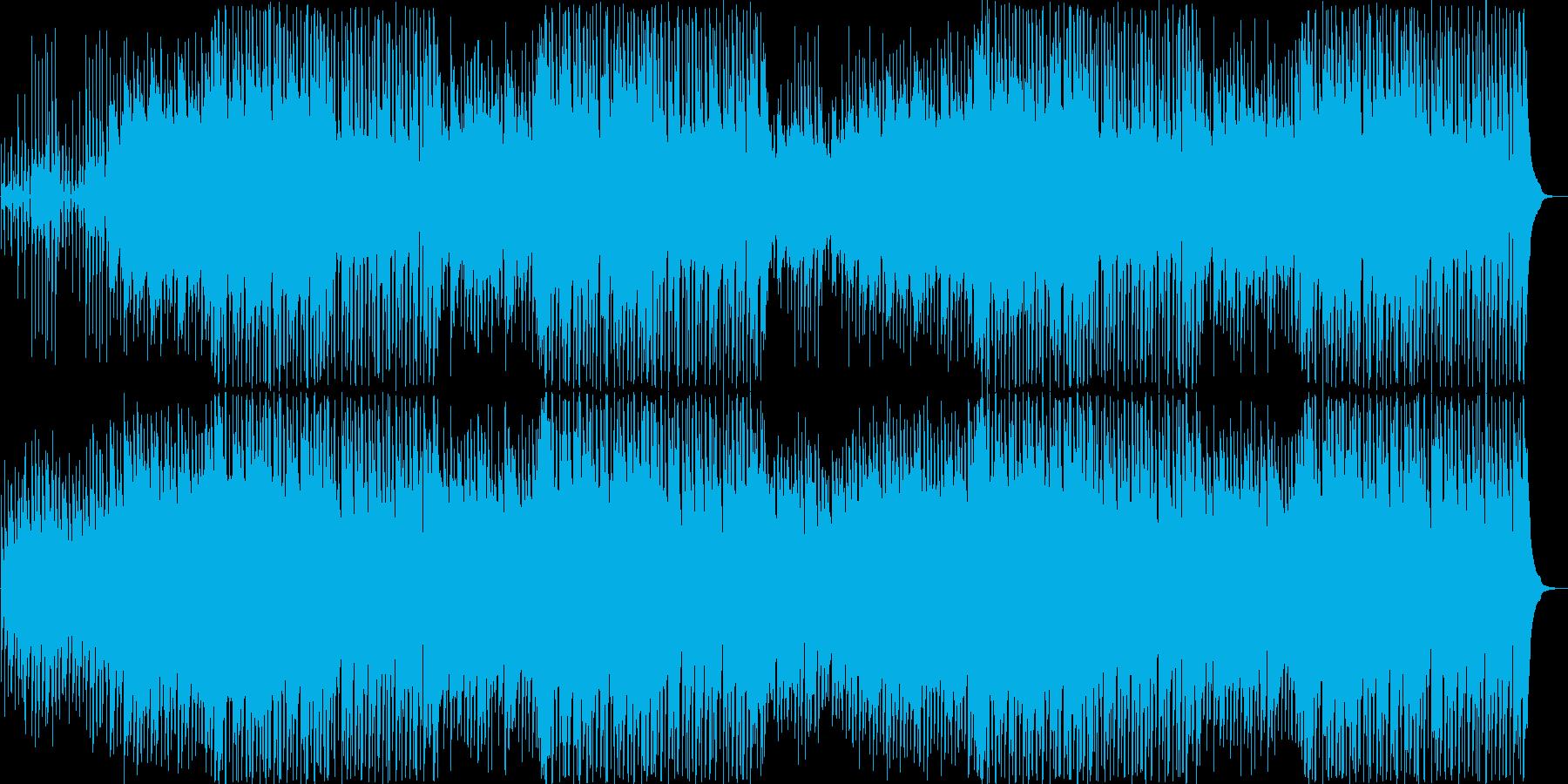 流行のコンセプトムービーBGMサウンド⑤の再生済みの波形