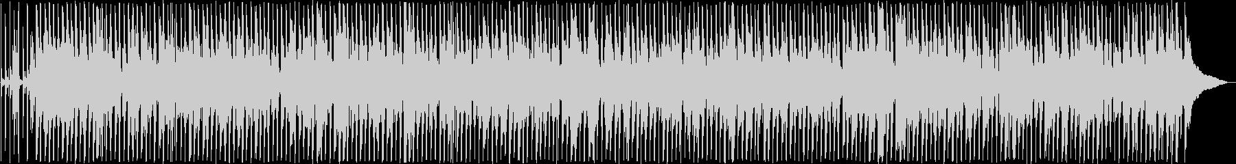 のんびりした雰囲気のウクレレ曲の未再生の波形
