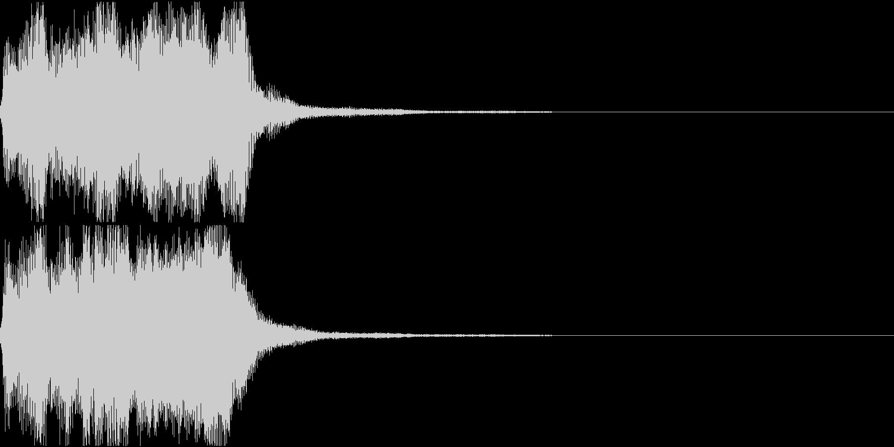 ラッパ ファンファーレ 定番 19の未再生の波形
