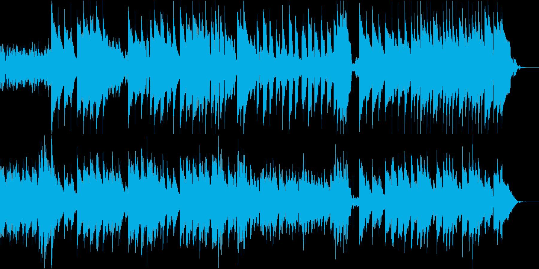 クリスマスソング。ピアノとベルでご機嫌にの再生済みの波形