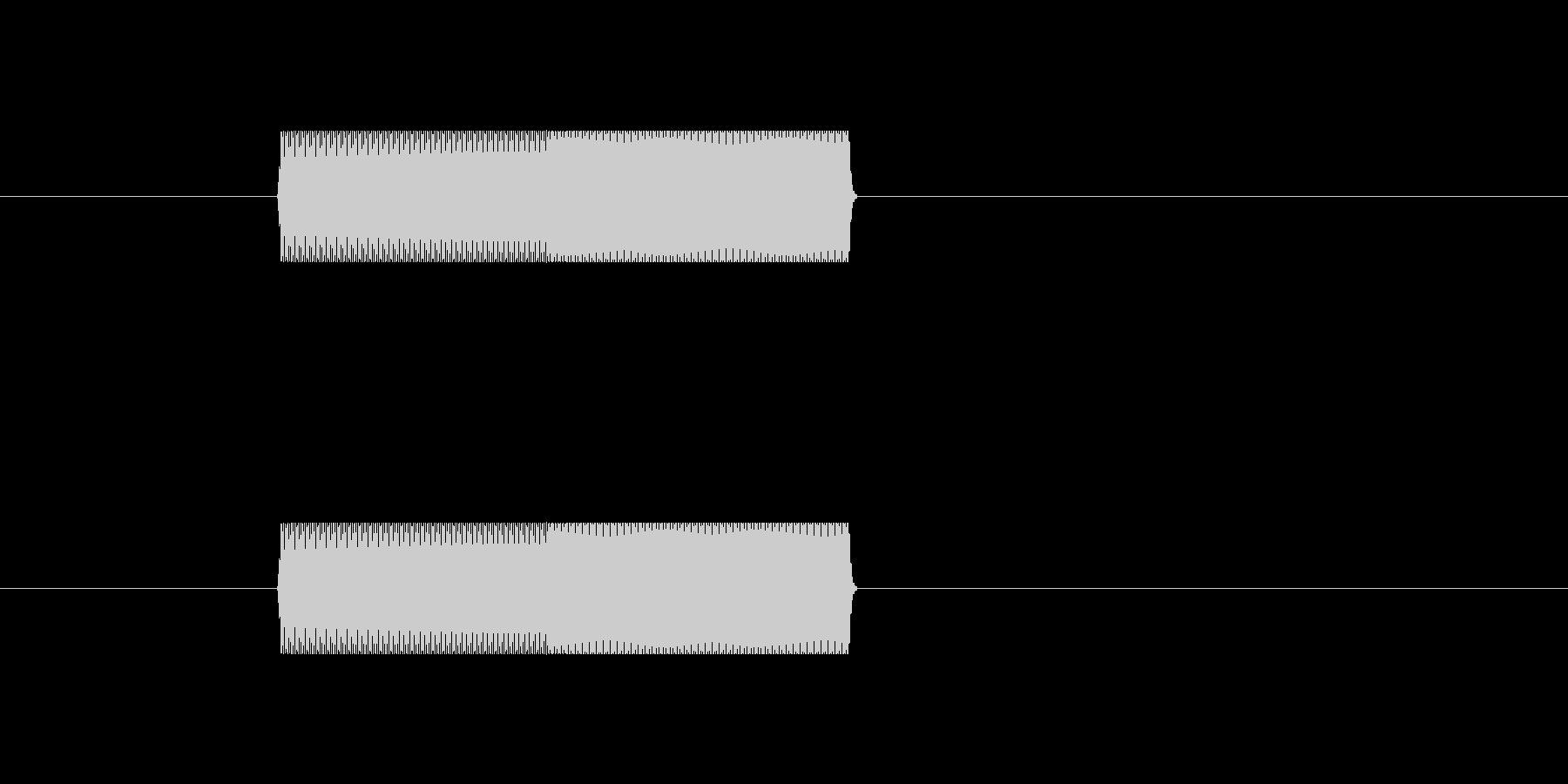 サイン波(ピコン)の未再生の波形